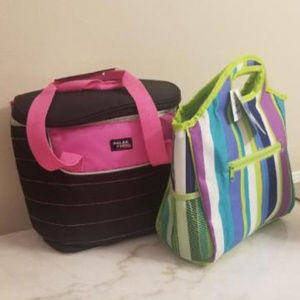 Lunch Tote &12 Can Cooler (Brand New)
